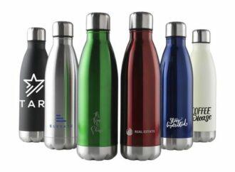 Bouteille d'eau publicitaire: quelle matière choisir?